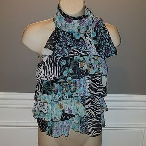 Bebe Floral Top Small